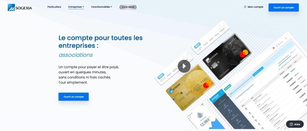 Banque pour association sogexia business