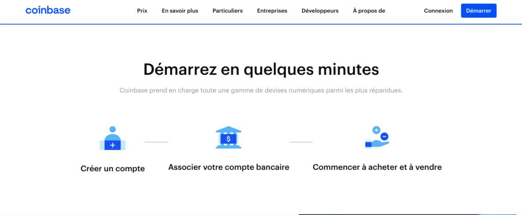 Comment ouvrir un compte Coinbase ?