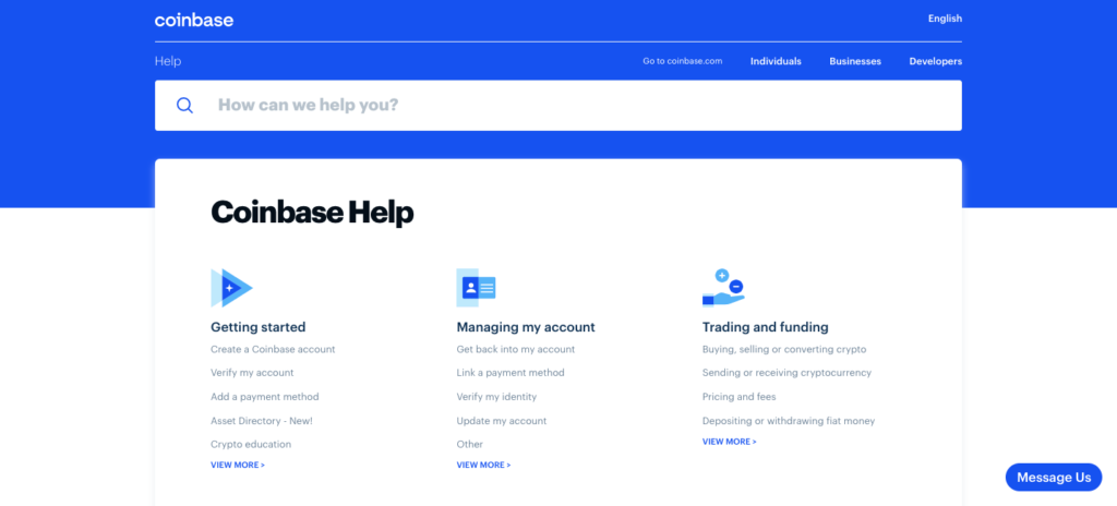 Coinbase ou Etoro sur le service client ?
