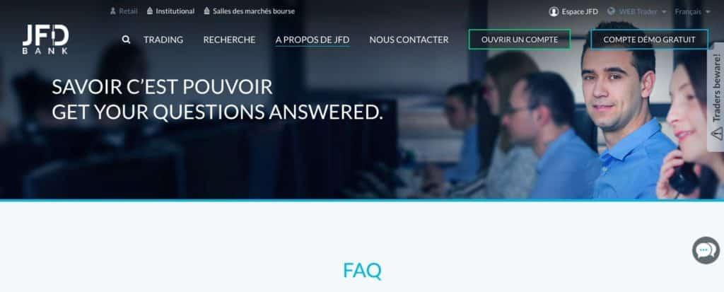 Quel avis JFD sur le service client ?