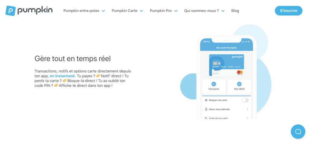 Quel avis Pumpkin sur la performance de l'appli mobile ?