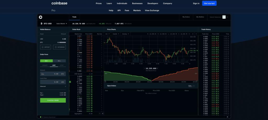 Quel avis sur Coinbase pro ?