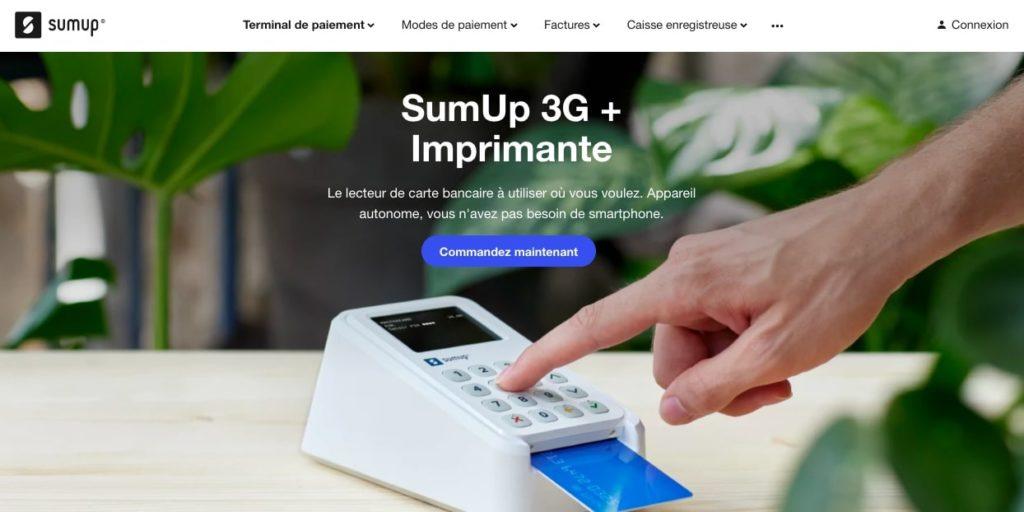 Quel avis sur Sump Up 3G + imprimante ?