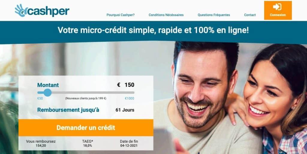 Micro credit Cashper