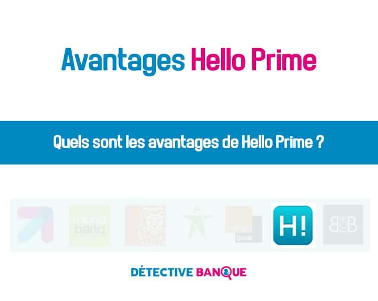 Avantages Hello Prime